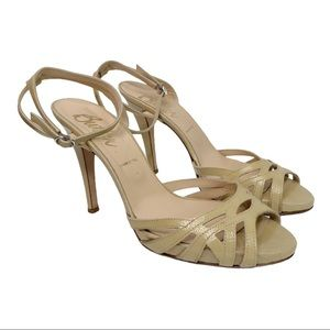 Butter Italy Heels | Strappy Sandals | Size 10